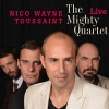visuel pochette album CD du Mighty Quartet,