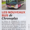Biarritz magazine, article sur Chronoplus