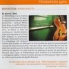 """Médiatheque de biarritz, article sur mon exposition """"Du blues à l'âme"""""""