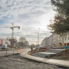 reportage aménagement rues de Bayone pour le Trambus