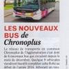 Biarritz magazine, article sur Chronoplus